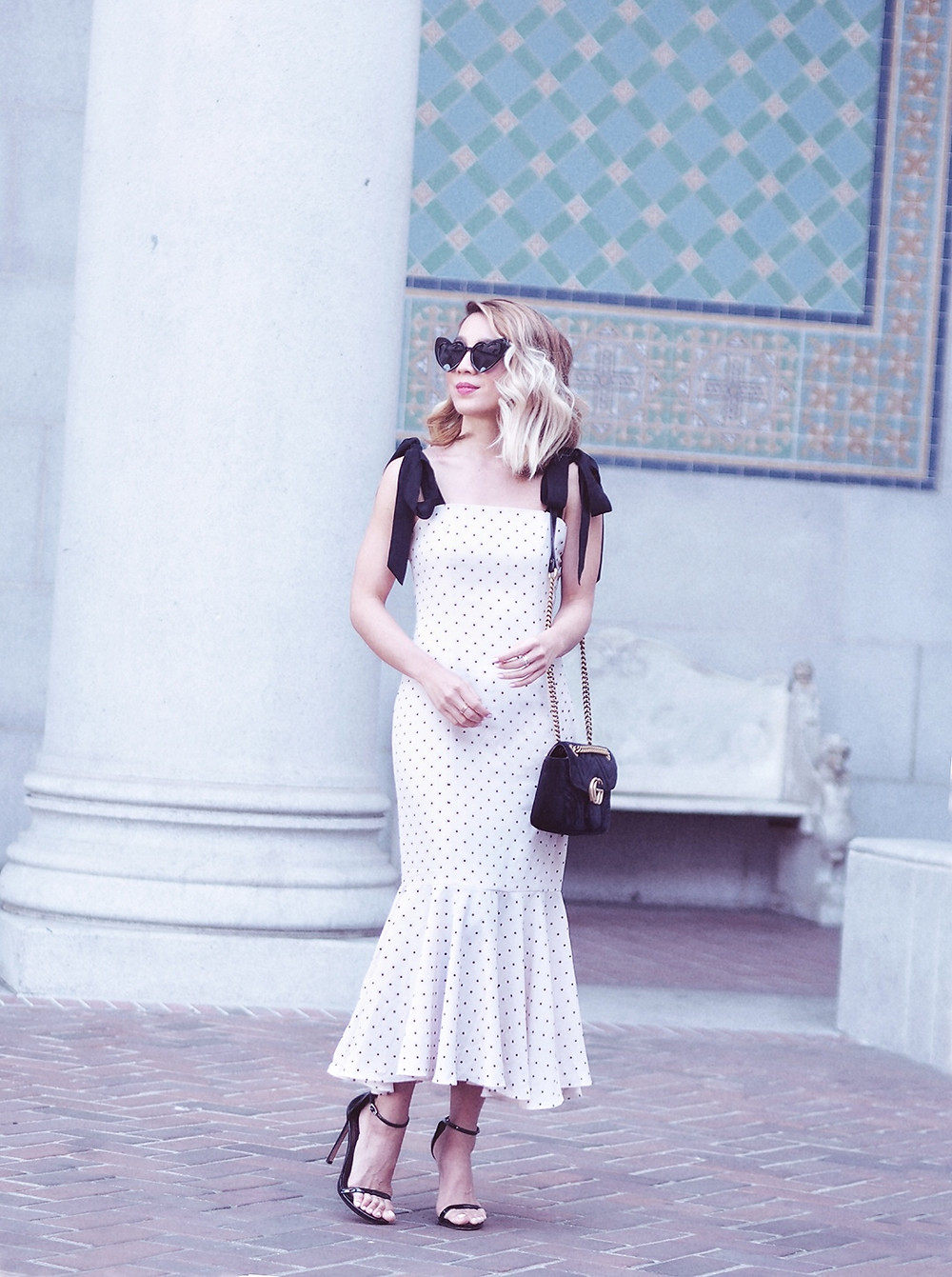 Lovers and Friends Polka Dot Dress | Lam in Louboutins