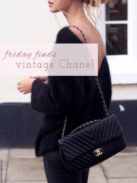 Friday Finds: Vintage Chanel