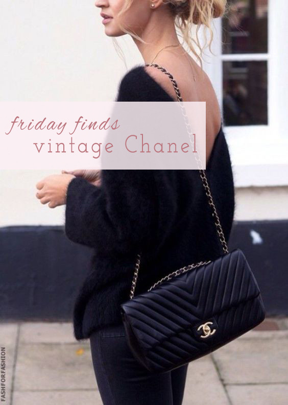 Friday Finds Vintage Chanel | Lam in Louboutins