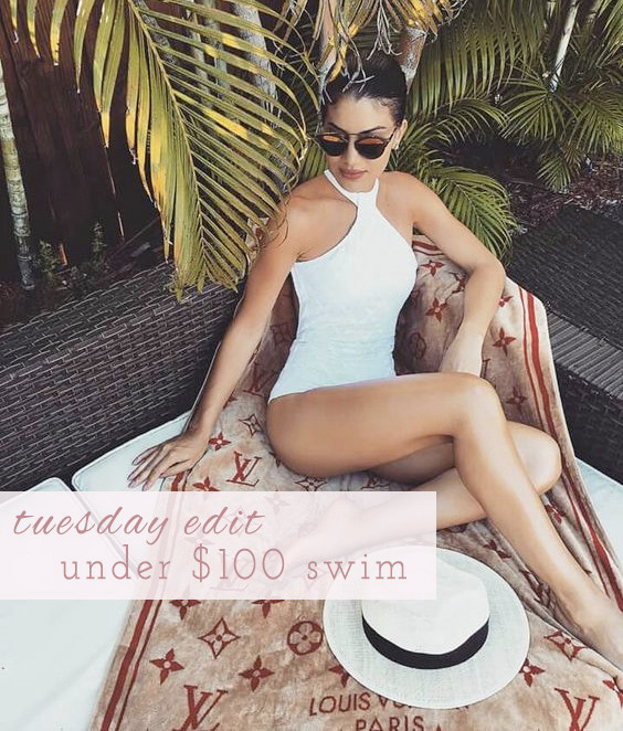 Under $100 Swim | Lam in Louboutins