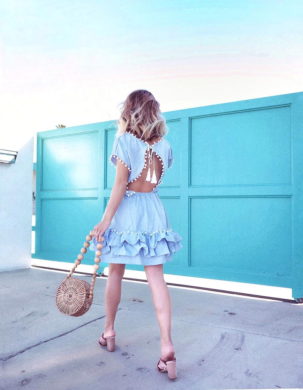 Peixoto Dress via Shopbop Sale   Lam in Louboutins