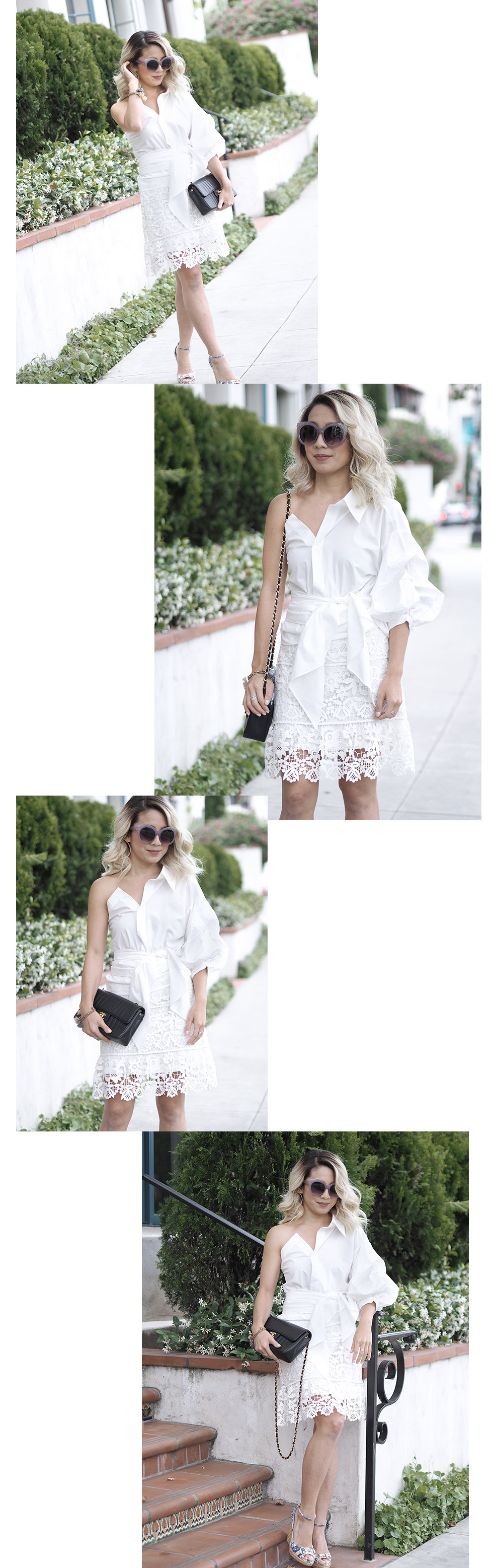 Summer Whites | Lam in Louboutins