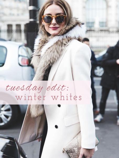 Tuesday Edit: Winter Whites