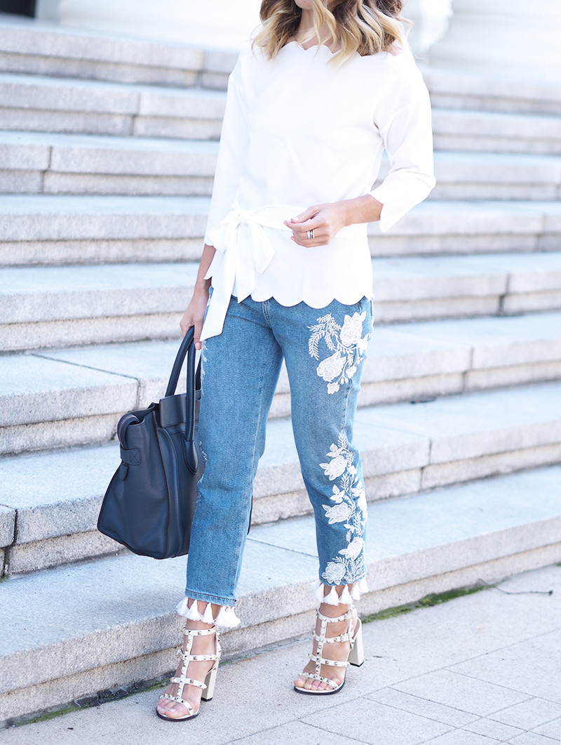 Embellished Denim | Lam in Louboutins