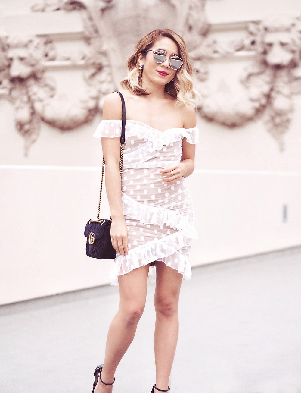 Majorelle Bandit Dress | Lam in Louboutins