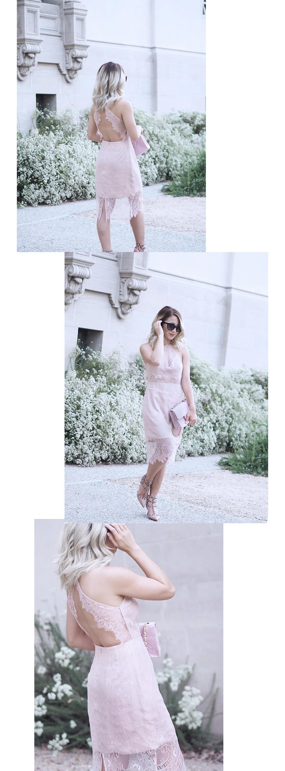 Delicate Keepsake Lace Dress | Lam in Louboutins