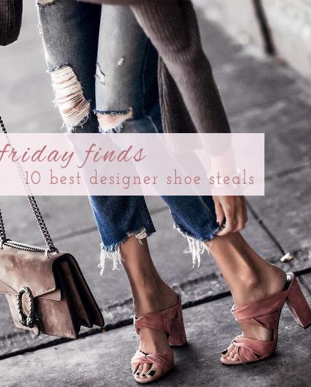 Friday Finds: 10 Best Designer Shoe Steals