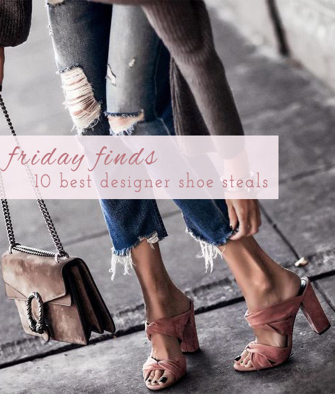 Friday Finds: 10 Best Designer Shoe Steals | Lam in Louboutins