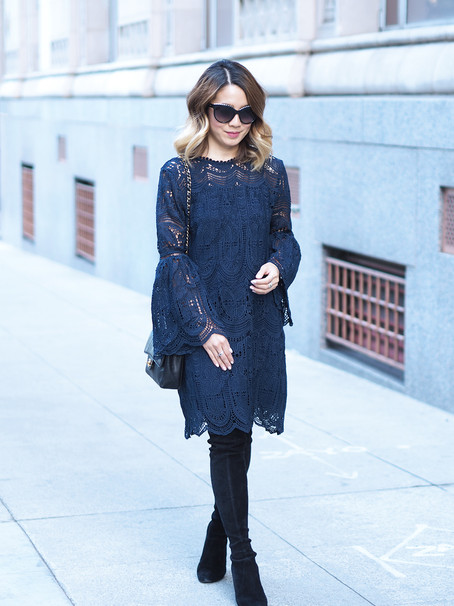 Chicwish Lace Dress