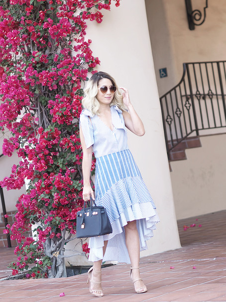 Stripes, Ruffles and Bows