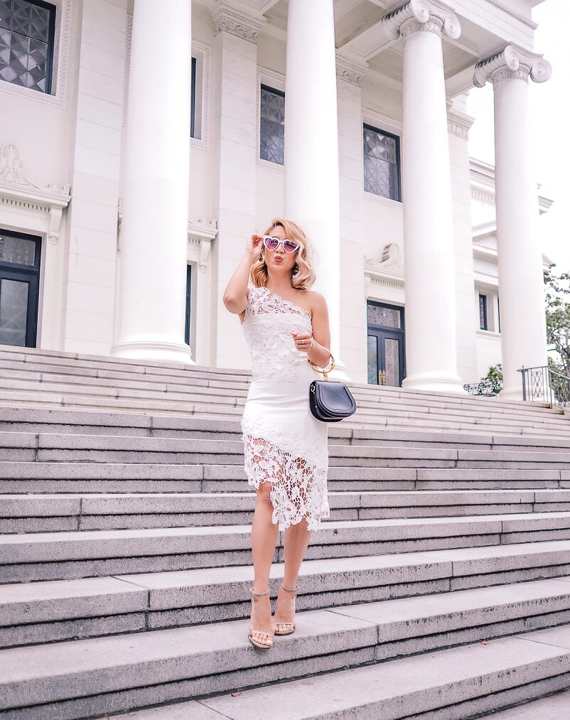 Lovers and Friends White Dress | Lam in Louboutins