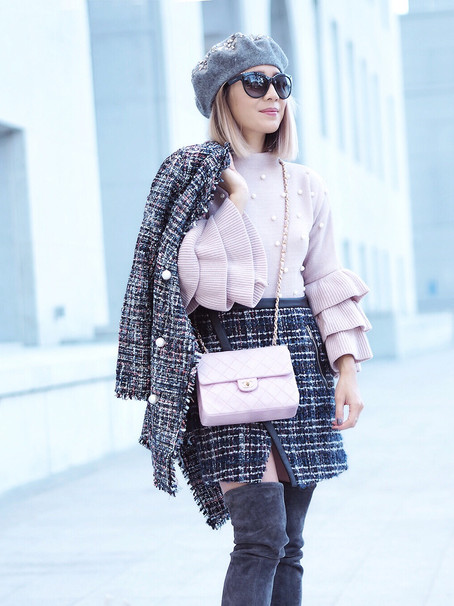 Pearls, Pink and Tweed