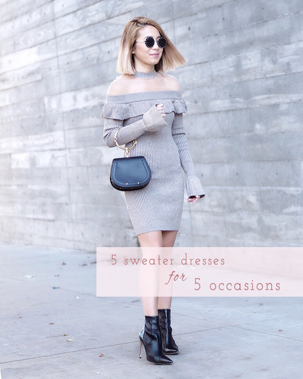 5 Sweater Dresses for 5 Different Occasions | Lam in Louboutins
