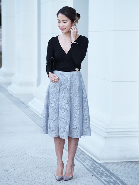 Chicwish Lace Skirt