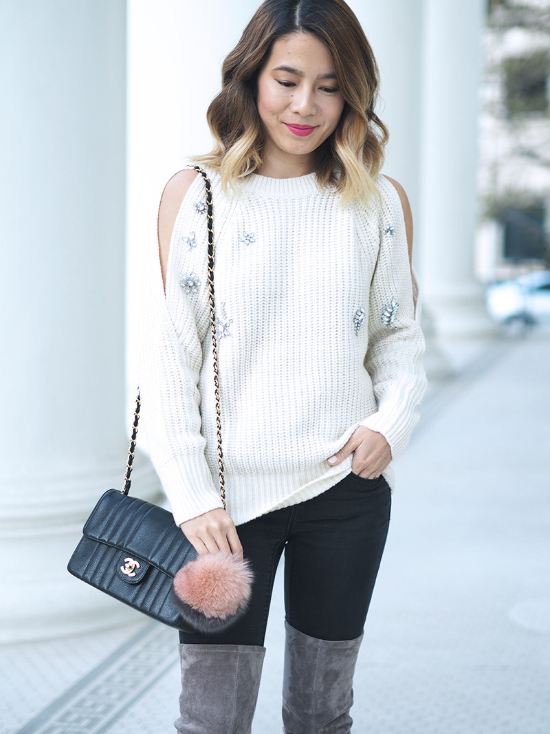 Embellished Sweater | Lam in Louboutins