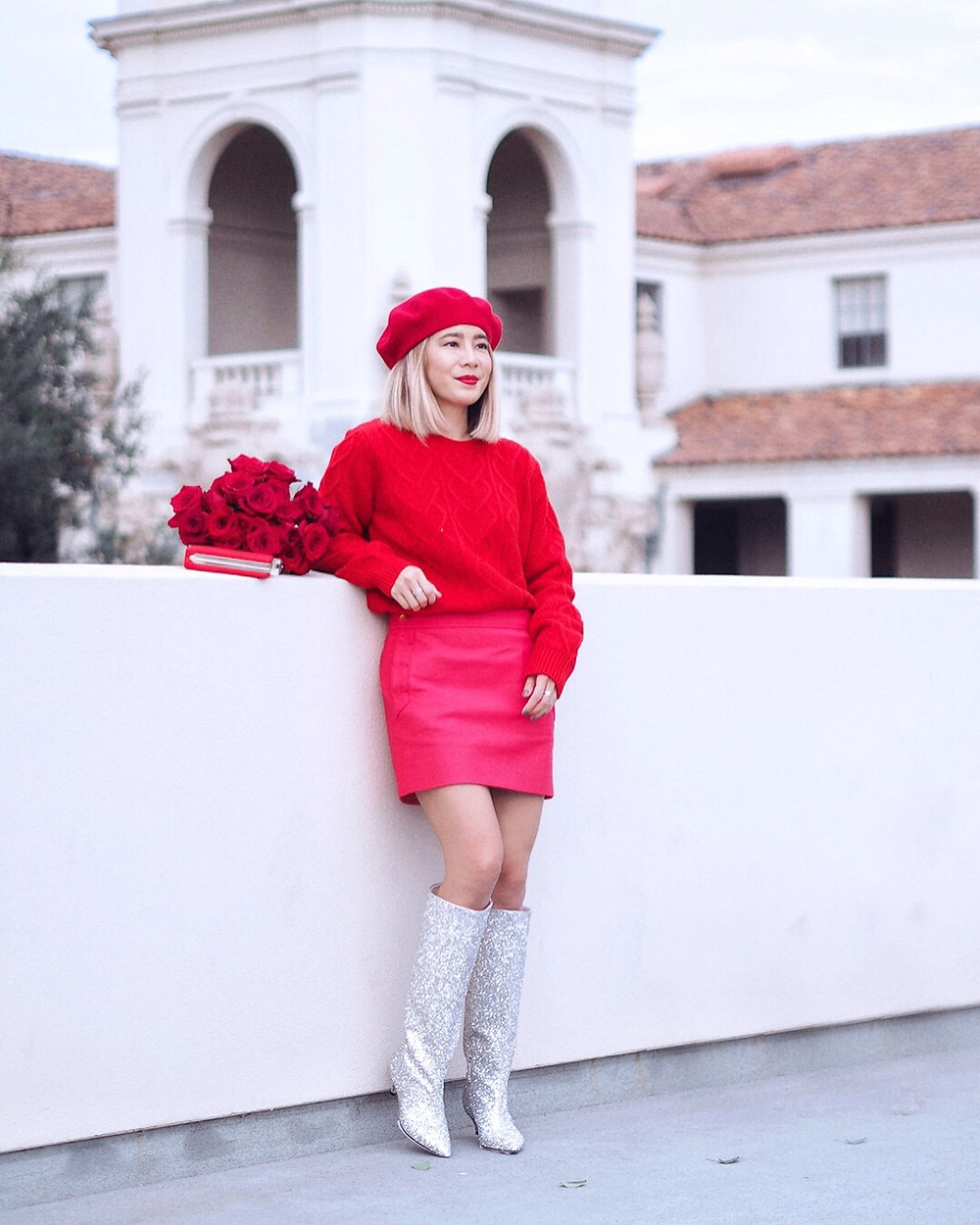 Holiday Red | Lam in Louboutins