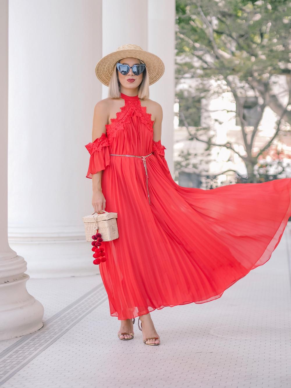 Glamorous Dress   Lam in Louboutins