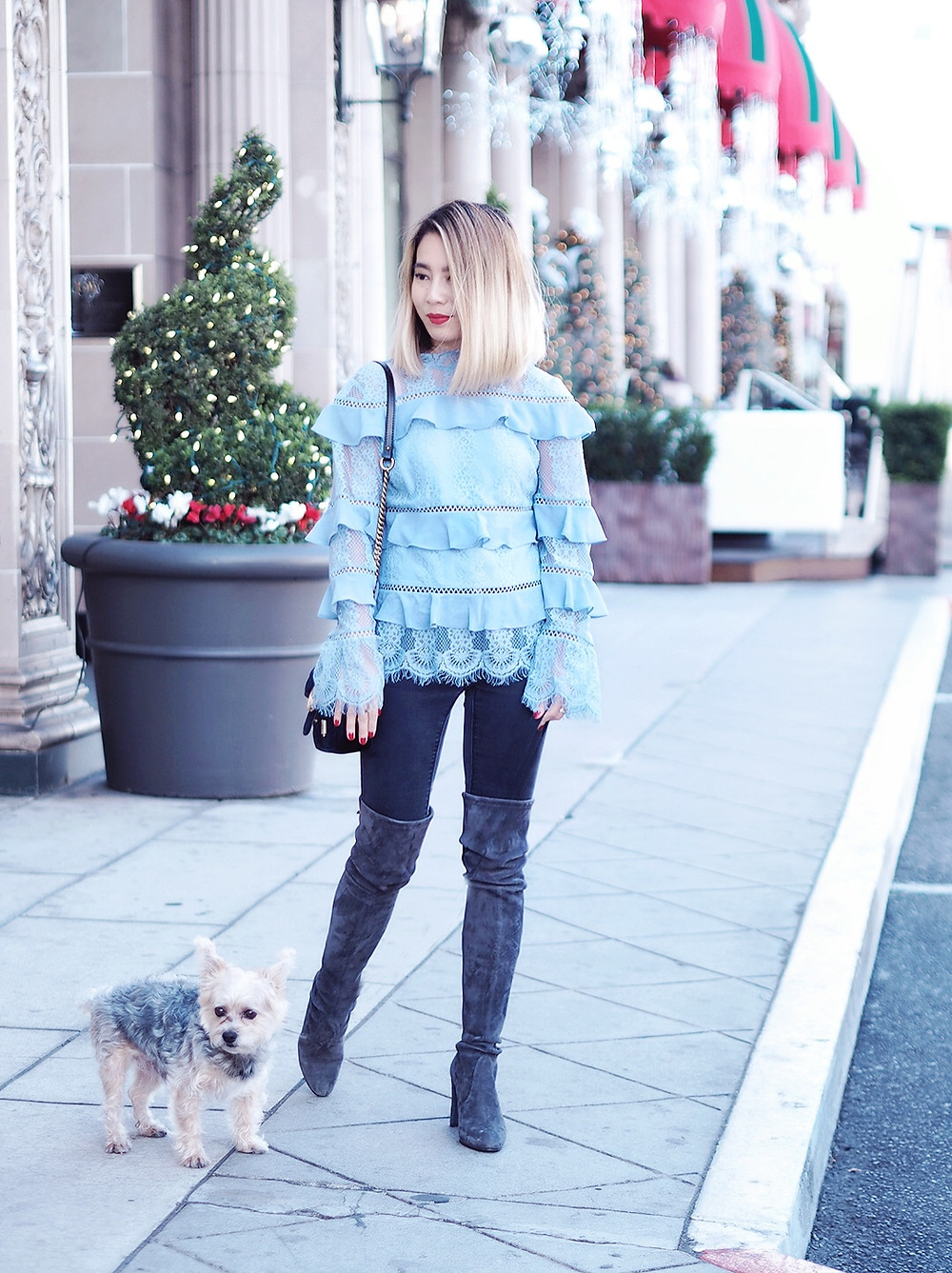 Holidays in Beverly Hills | Lam in Louboutins