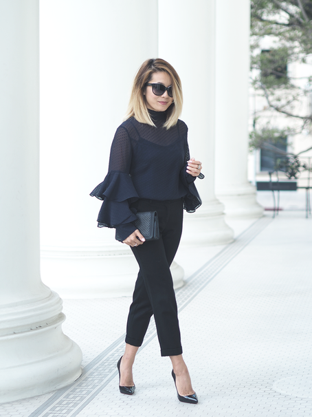 How To Wear Statement Sleeves