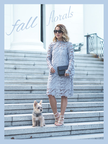 Fall Floral Lace