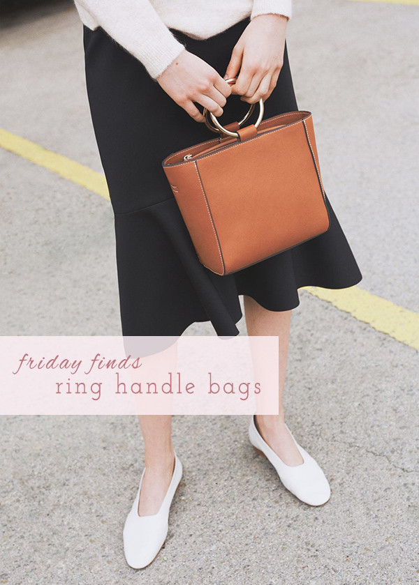 Friday Finds: Top 5 Ring Handle Bags