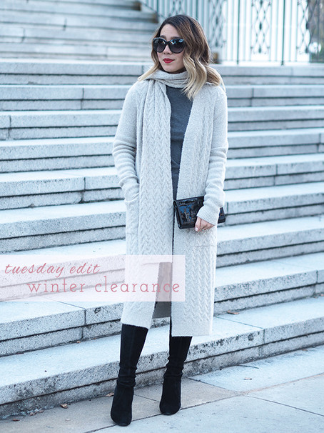 Tuesday Edit: Winter Clearance