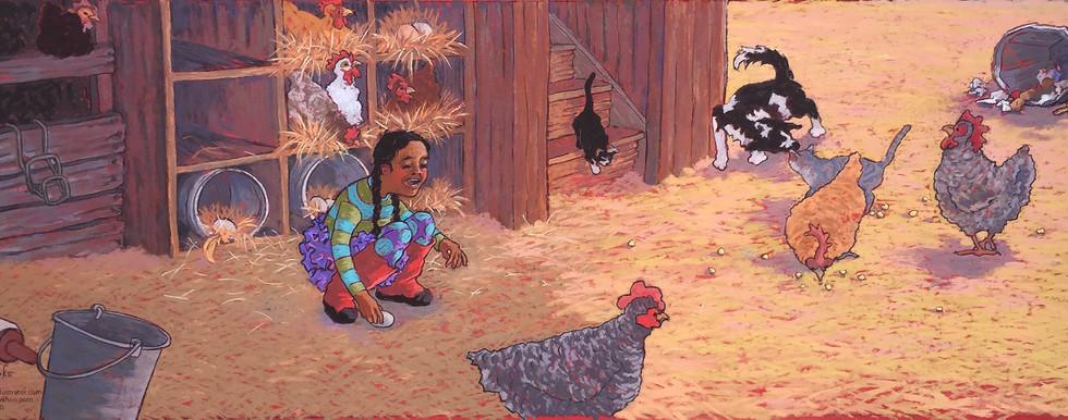 7 Nests, 8 Hens