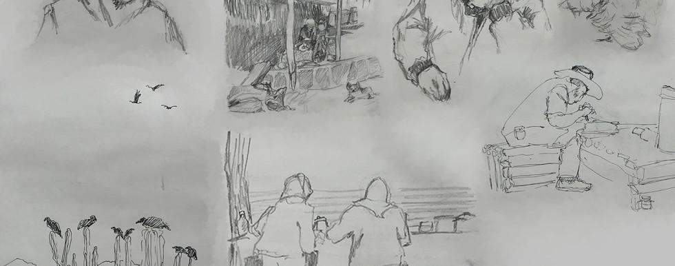 Sketchbook Page (Baja)