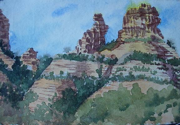 Sedona Rock Formation
