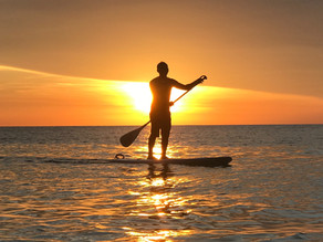 Terapia no stand up paddle