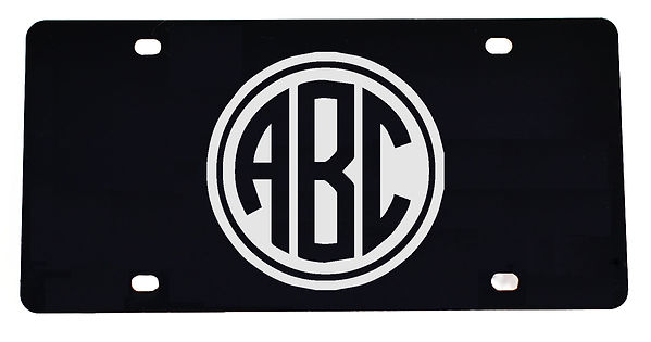 ABC MONOGRAM Plate black-silver.jpg
