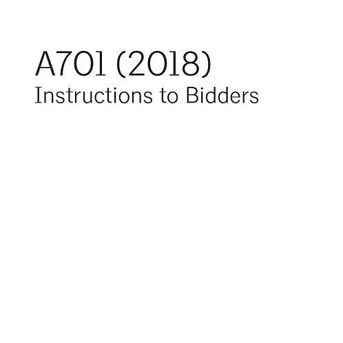 A701 (2018)