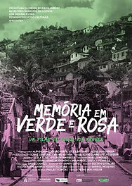 Cartaz Filme Memória em Verde e Rosa