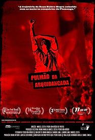 Cartaz Filme Pulmão na Arquibancada
