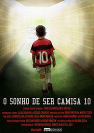 Cartaz Filme O Sonho de Ser Camisa 10