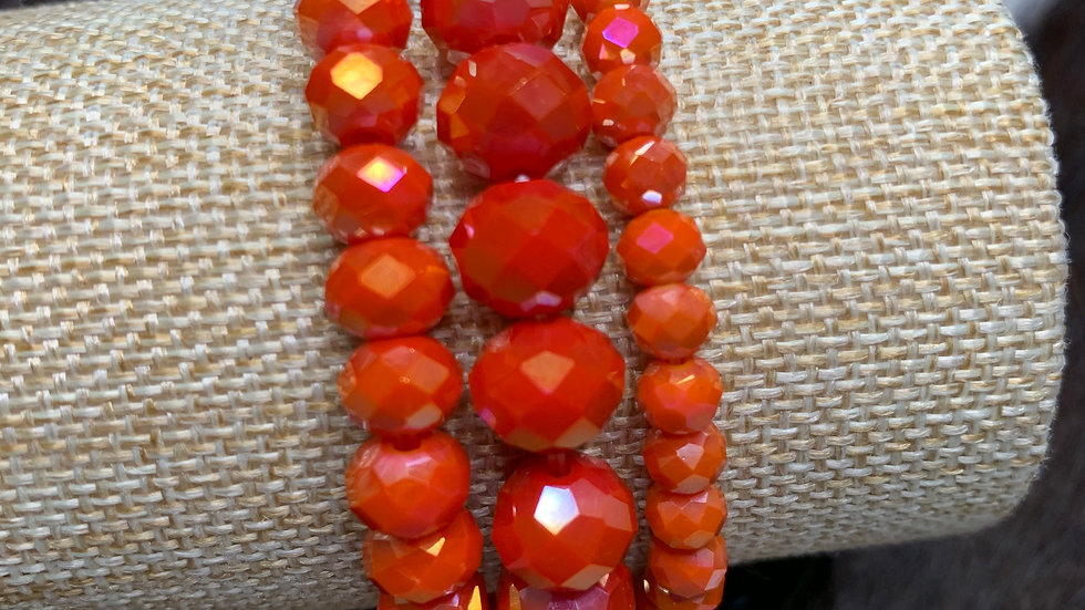 Cheekys Orange Bracelet