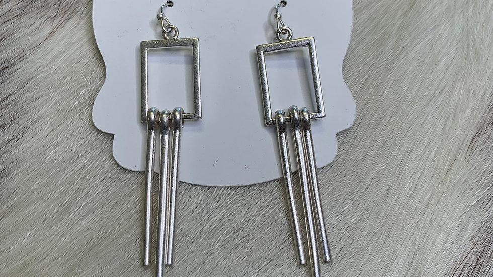 CK Silver Earrings