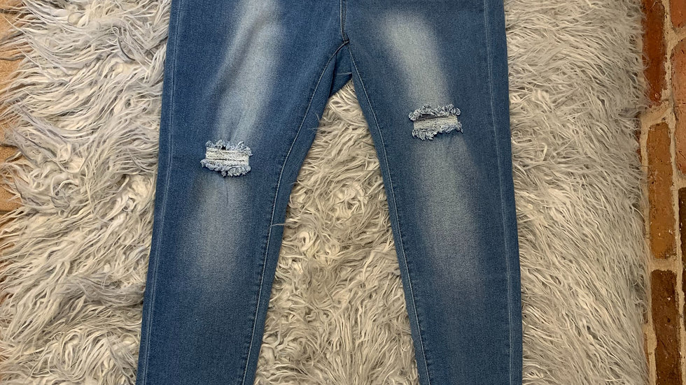 Lovesweet Distressed Jeans