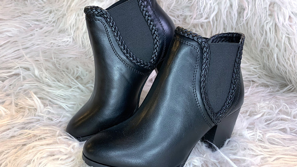 Forever Black Booties