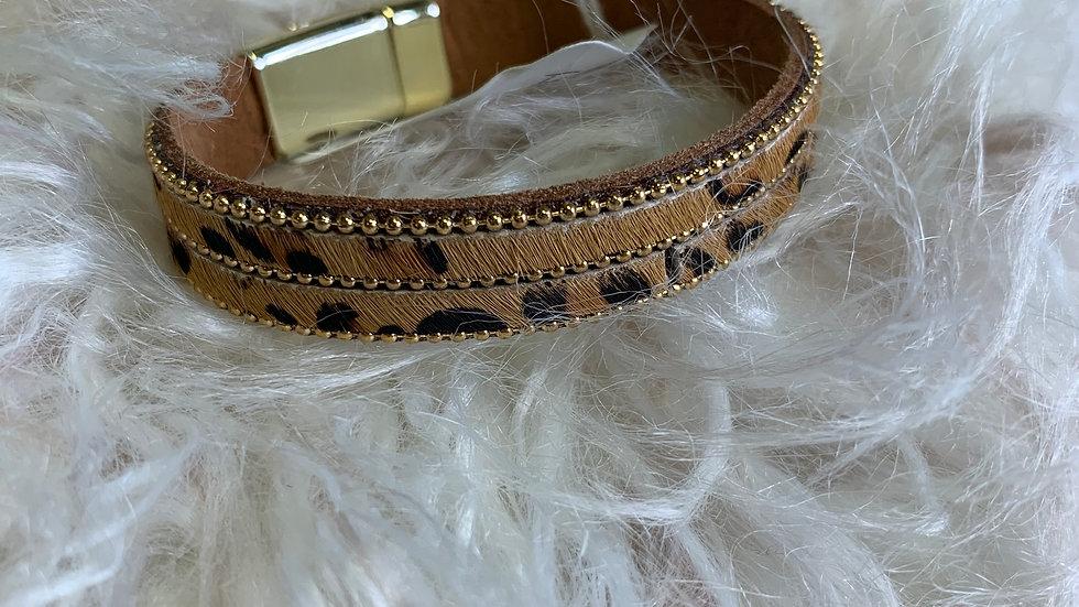 Leopard Magnetic Bracelet