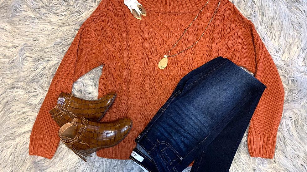Adora Auburn Sweater
