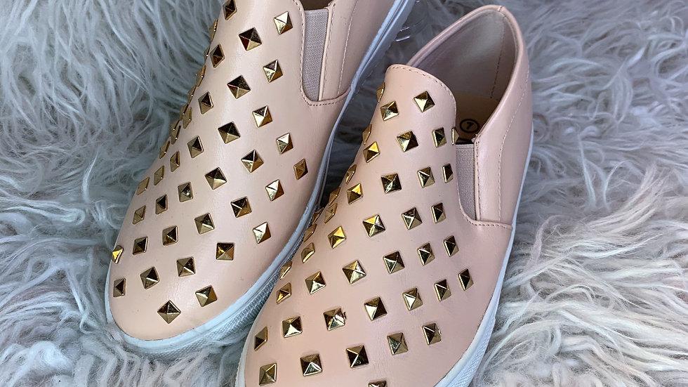 Blush Studded Shoes