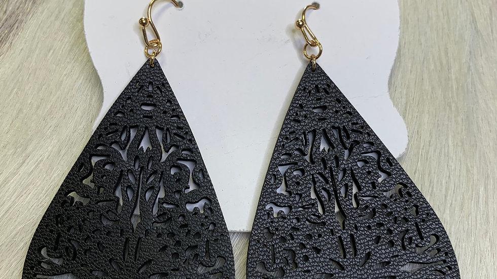 Mary Lou's Black Earrings