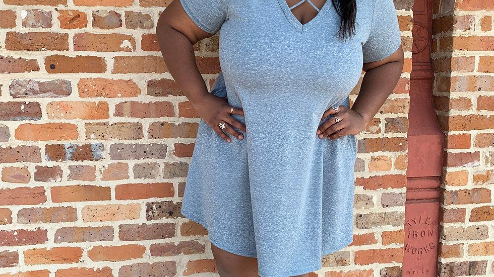 Blue Spin Dress