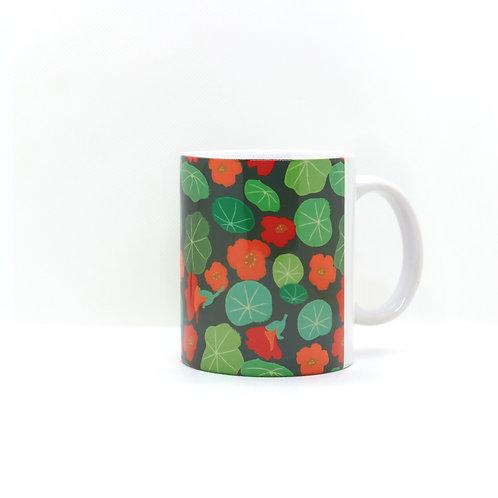 nasturtium -mug 11oz
