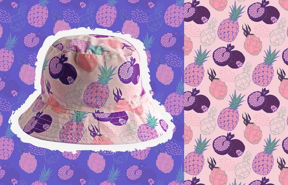 bucket frutas guapas