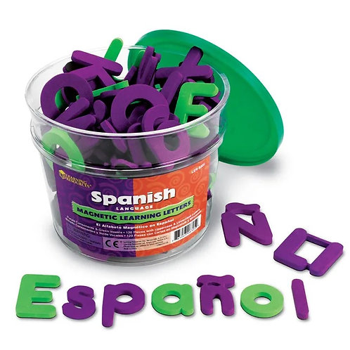 SPANISH LEARNING LETTERS