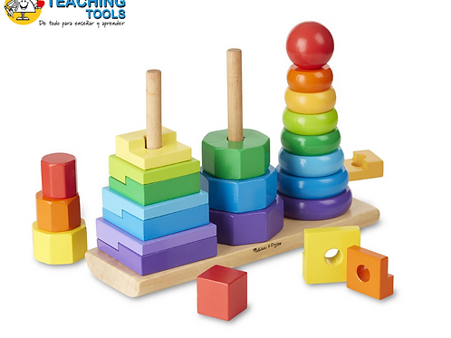 GEOMETRIC STACKER 25 PCS.