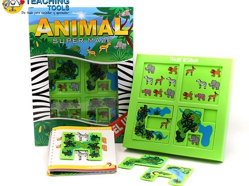 ANIMAL SUPER MAZE