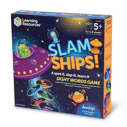 SLAMSHIPS SIGHT WORD GAME